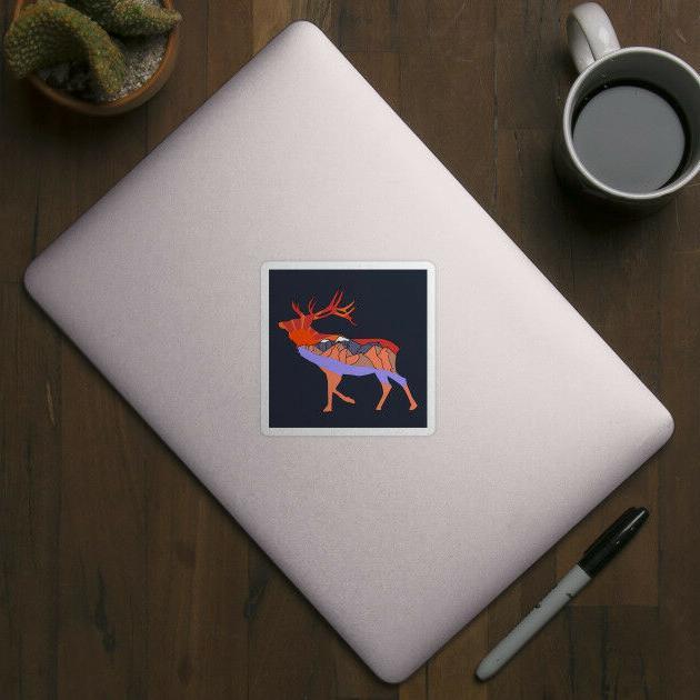 Deer Quote Vinyl Decor Laptop