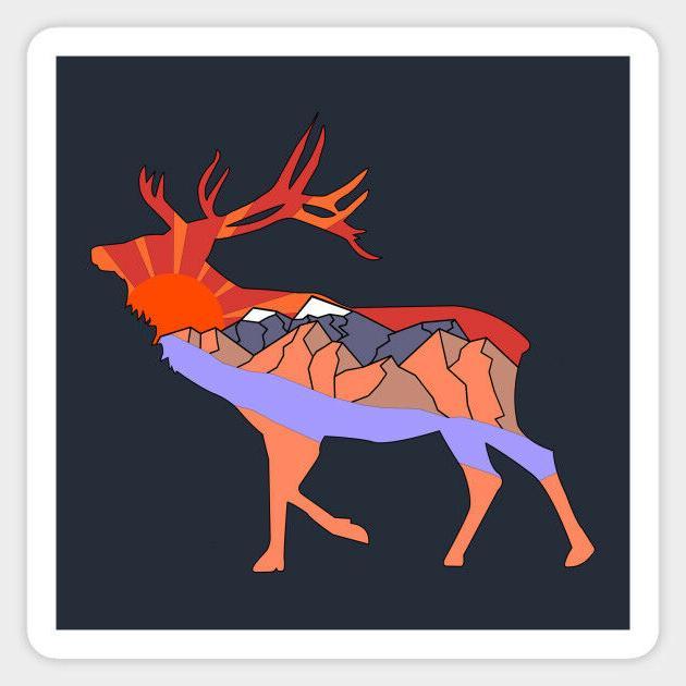 deer land adventure inspired quote vinyl decal