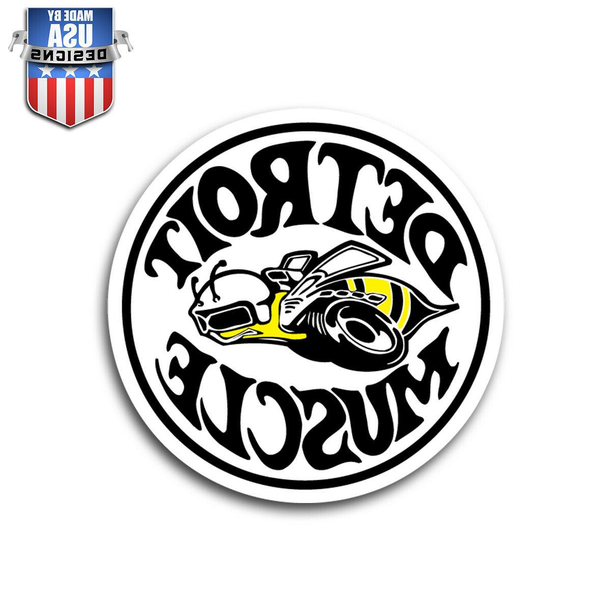 detroit muscle super bee sticker decal phone