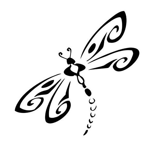 Dragonfly Decal Vinyl Sticker Cars Trucks Vans Walls Laptop