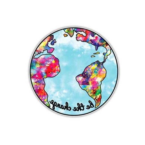 earth sticker change planet