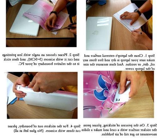 "Pink Butterflies NEW 12.1"" 15.4"" 15.6"" Netbook Laptop Skin Reusable Cover -15.6"" Samsung Leonovo Asus Notebook"