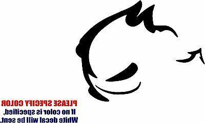 evil rabbit 02 decal sticker jdm funny