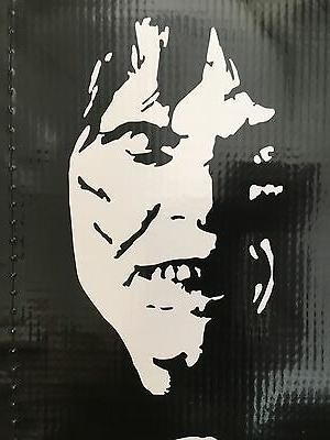 exorcist horror halloween linda blair decal sticker