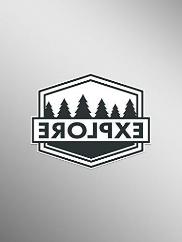 explore wanderlust vinyl decals stickers