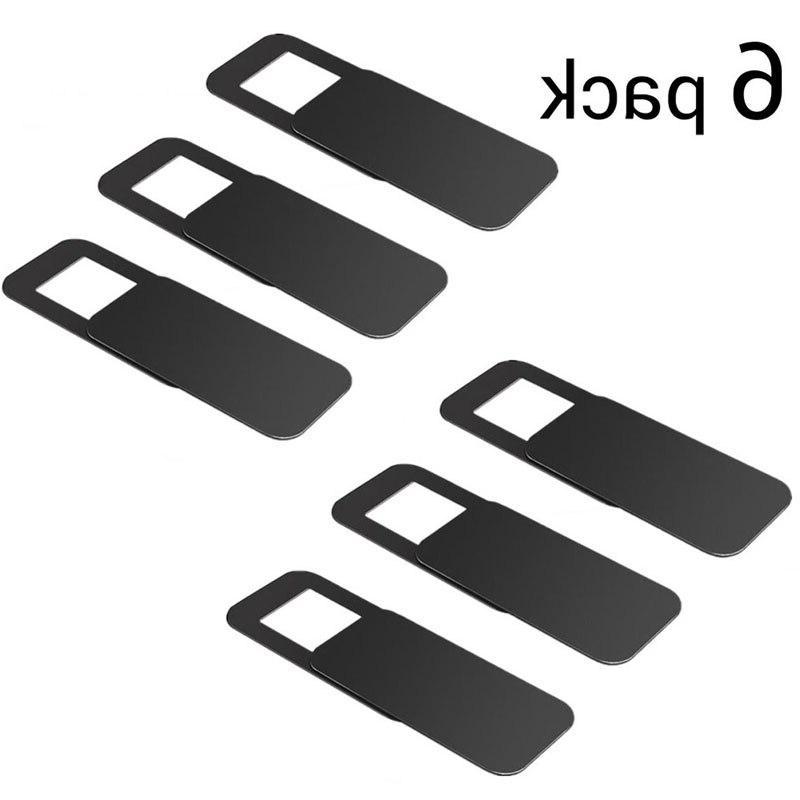 <font><b>1</b></font>/3/6pcs Lens Cap Camera Webcam Cover for PC <font><b>Laptops</b></font>