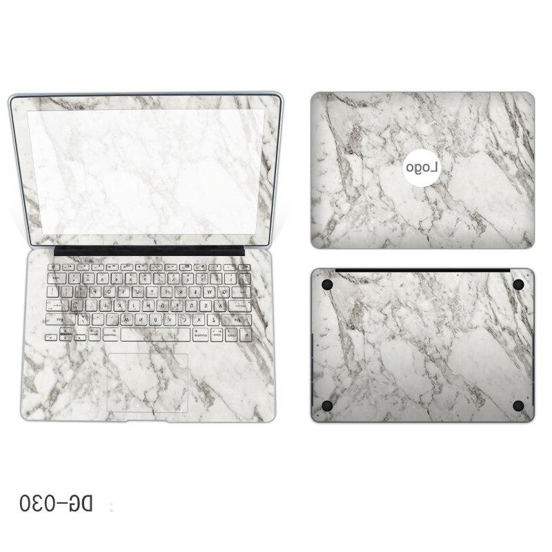 Four sides Marble <font><b>laptop</b></font> <font><b>sticker</b></font> screen border cover bottom Notebook skin macbook <font><b>Lenovo</b></font> <font><b>yoga</b></font>