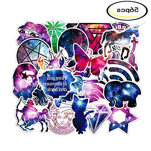 galaxy stickers laptop decal