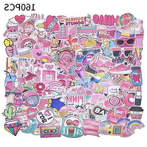 girl cute lovely laptop stickers