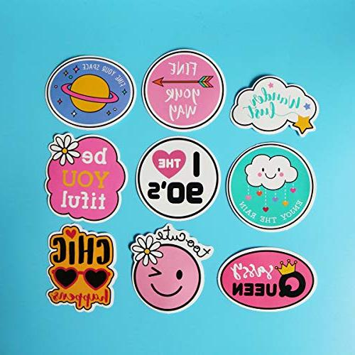 Girl Laptop Stickers Motorcycle Phone Guitar Bike Sticker 60pcs
