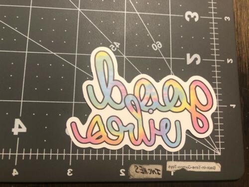 good vibes humor vsco decal humor skateboard
