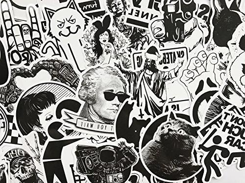 DreamerGO Graffiti Pieces Black Skateboard Sticker