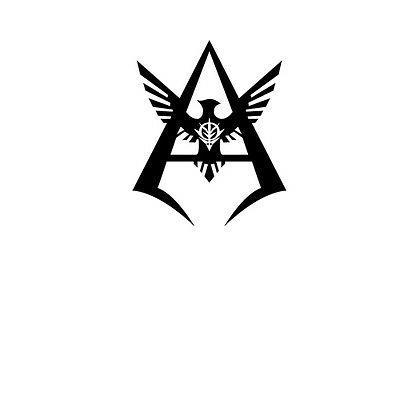 gundam char aznable symbol decal sticker