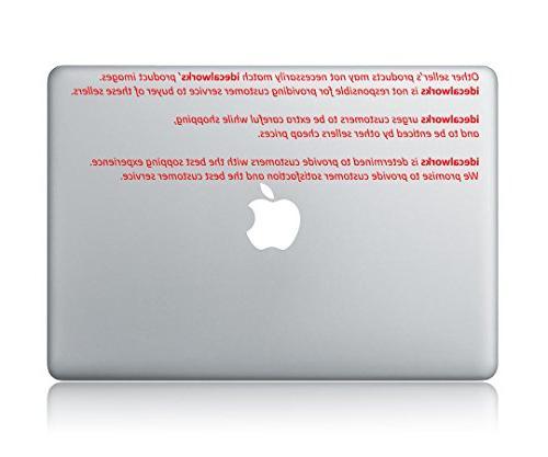 Harry Glasses Scarf Decal Macbook Vinyl Sticker Decal