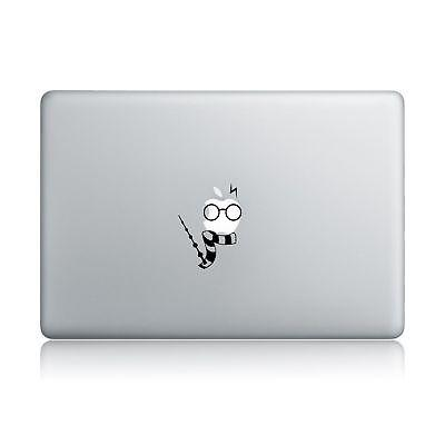 Harry Potter Scarf Wand Macbook Decal