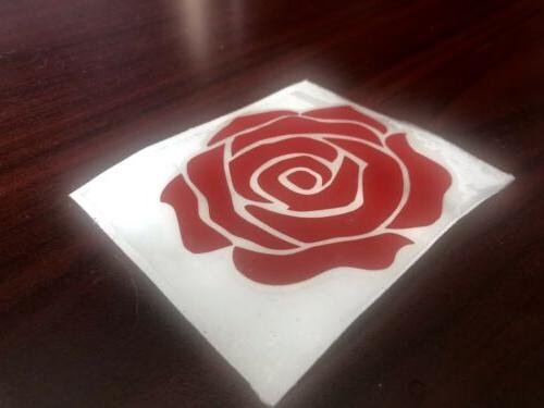 High Quality Red Decal Sticker For Laptop