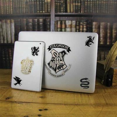 Harry Potter Hogwarts Laptop Sticker Decals Black