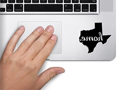 home texas state name keypad