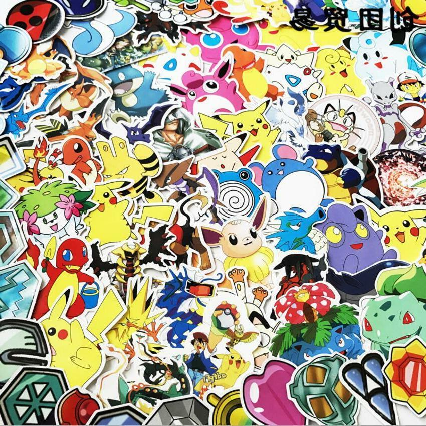 Hot Cool Stickers Skateboard Luggage Decals Dope Sticker Lot