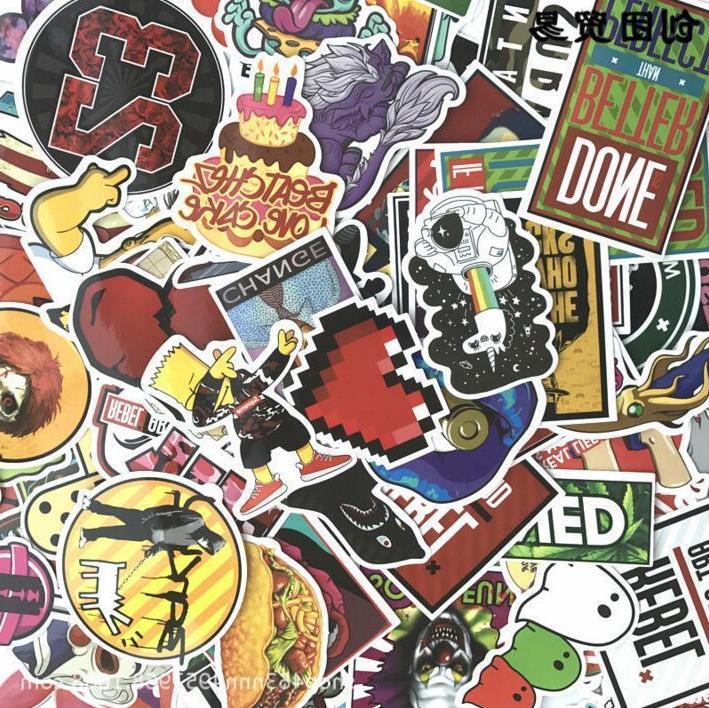 Hot Cool Vinyl Skateboard Dope
