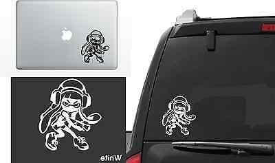 inkling girl vinyl decal window laptop sticker