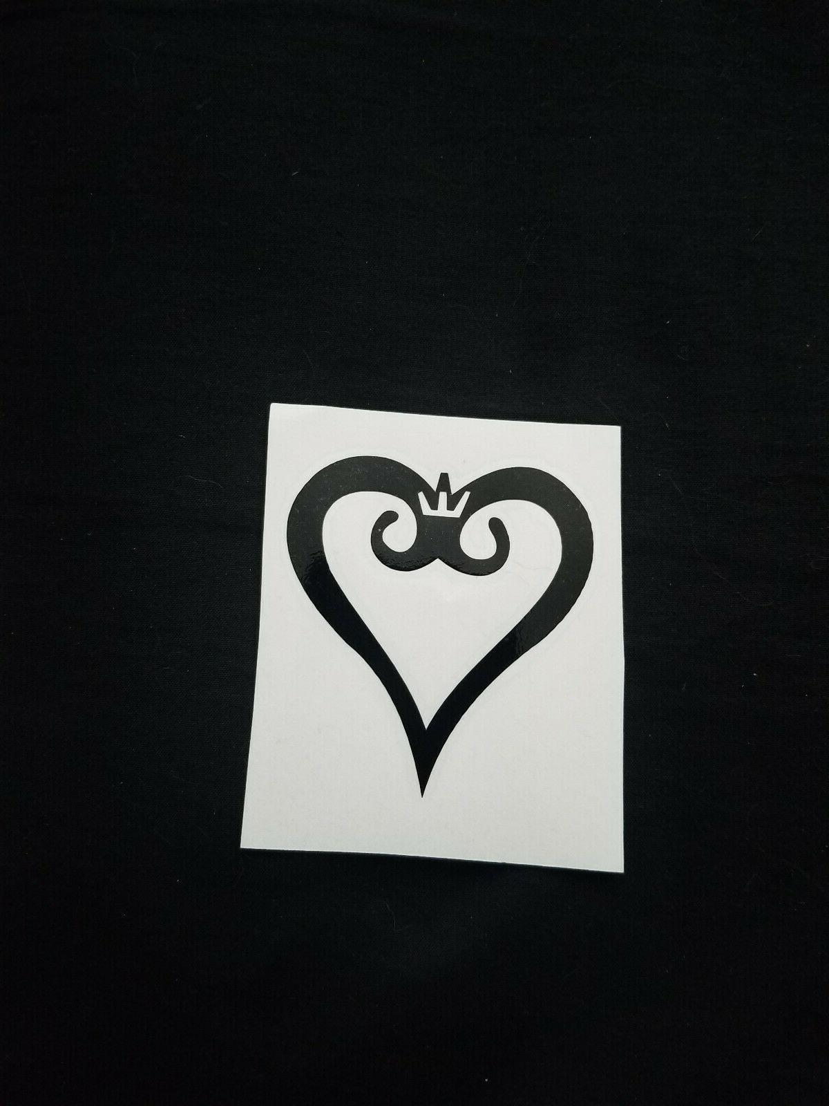 kingdom hearts black laptop ps4 computer case