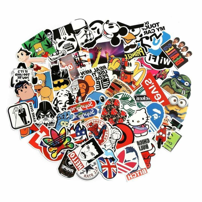 Laptop Graffiti Vinyl Decal Skateboard Sticker Mix