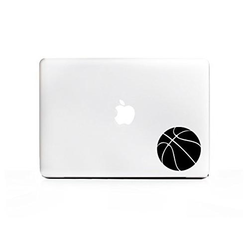 laptop series basketball simple sticker
