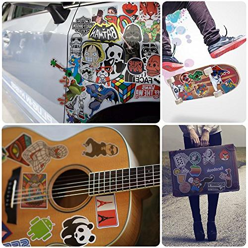 Laptop Stickers , Stickers, Waterproof Bumper Decals for Car, Motorcycle, Bicycle, Skateboard Pack
