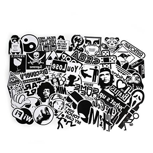 FNGEEN Laptop Stickers 100pcs Bomb Car Motorcycle Bicycle Graffiti Deacls
