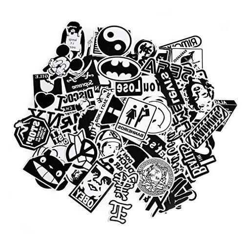 FNGEEN Laptop Stickers 100pcs Sticker Car Bicycle Graffiti Skateboard Deacls
