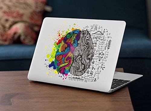 "iCasso Removable Vinyl Sticker Macbook Air Mac 13"" inch Unibody 13 Laptop"