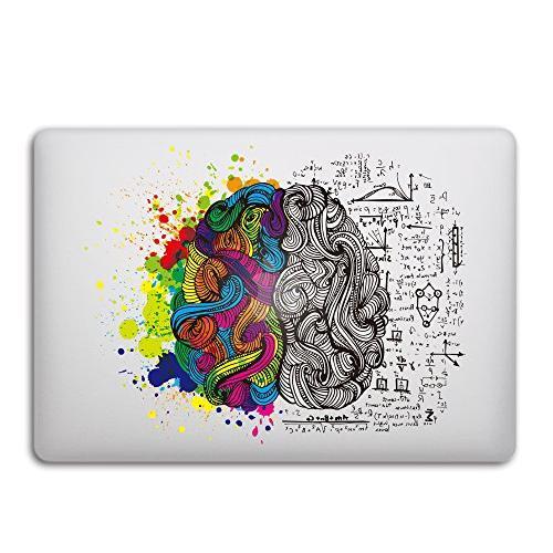 left right brain removable vinyl