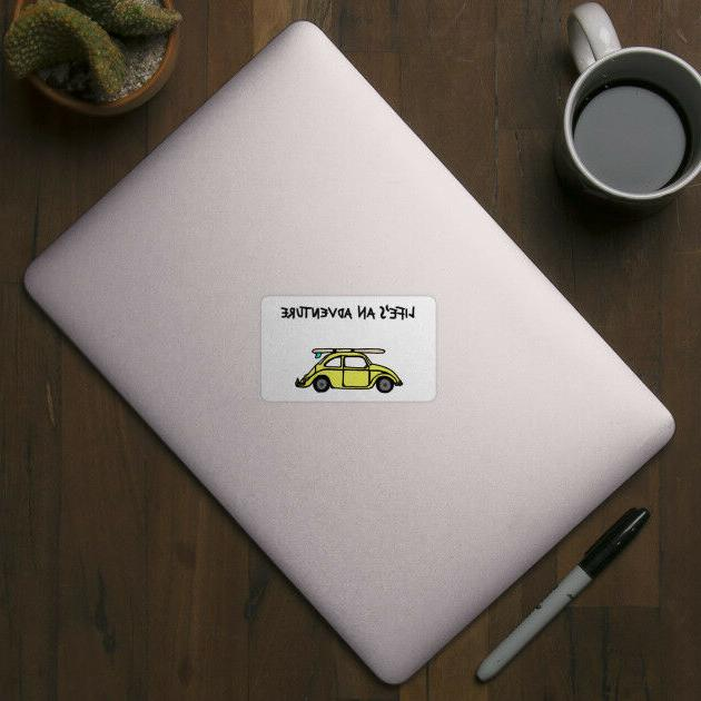 Life's An Inspired Quote Vinyl Decal Laptop Motivation Sticker