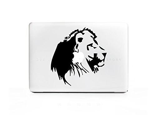lion africa side profile laptop