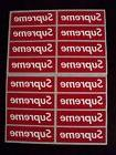 supreme box logo red sticker vinyl decal pack lot set of 16