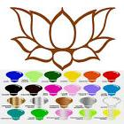 Lotus Flower Vinyl Decal Sticker for Car Window Wall Decor Y