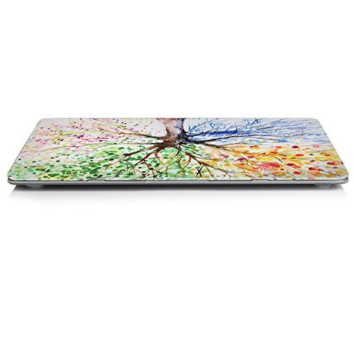 iCasso Inch Rubber Coated Glossy Shell Plastic Protective Laptop Air 13 Inch Four Seasons