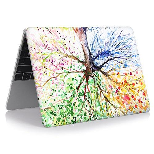 iCasso Inch Case Rubber Coated Glossy Hard Shell Protective Laptop 13 Inch Seasons