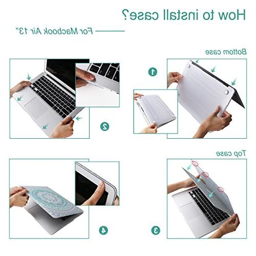 Inch Coated Glossy Hard Protective Cover For Laptop Air Inch A1369/A1466- Four Seasons