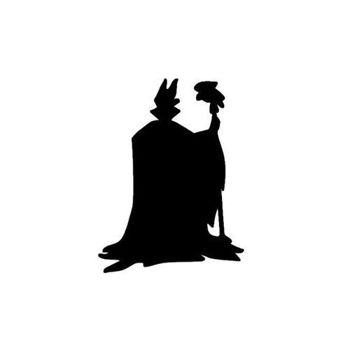 Maleficent Sticker for Macbook keyboard