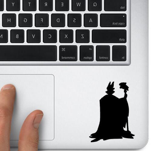Maleficent Sticker for Trackpad keyboard Car window