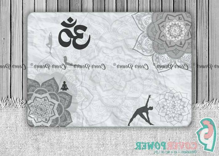mandala yoga boho skin notebook vinyl decal