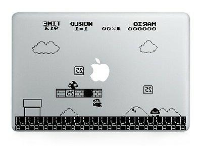 Mario Nintendo Laptop Apple Sticker for Macbook Air/Pro/Retin
