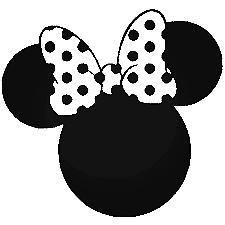 Minnie Mouse- Cartoon Decal Vinyl Sticker Laptop Car Window