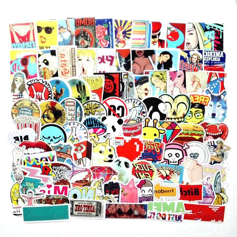 mixed sticker bomb random vinyl decal lot