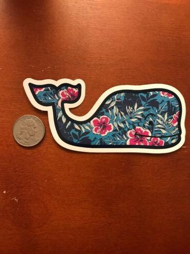 New Floral Whale Car