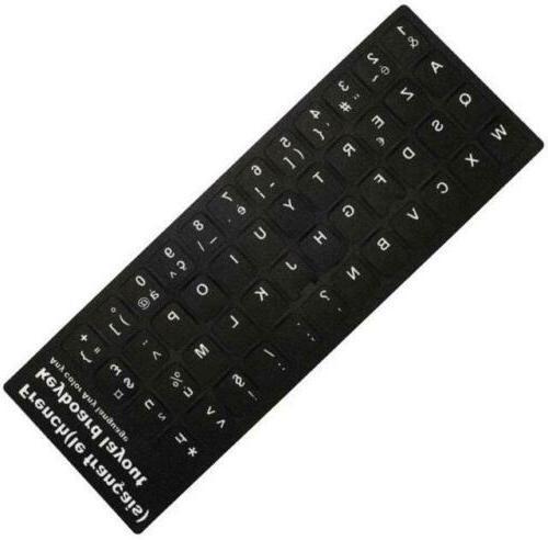 Letter Alphabet Sticker For Laptop Desktop
