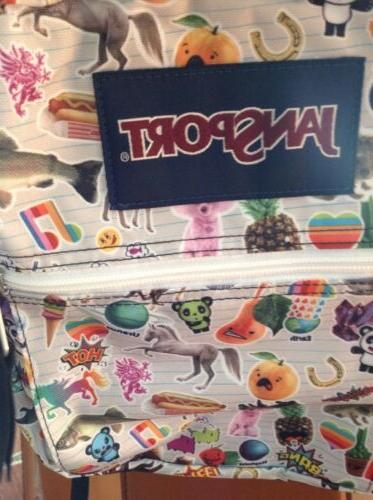 Jansport New Sticker School Bag Backpack