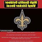 New Orleans Saints Vinyl Car Window Laptop Bumper Sticker De